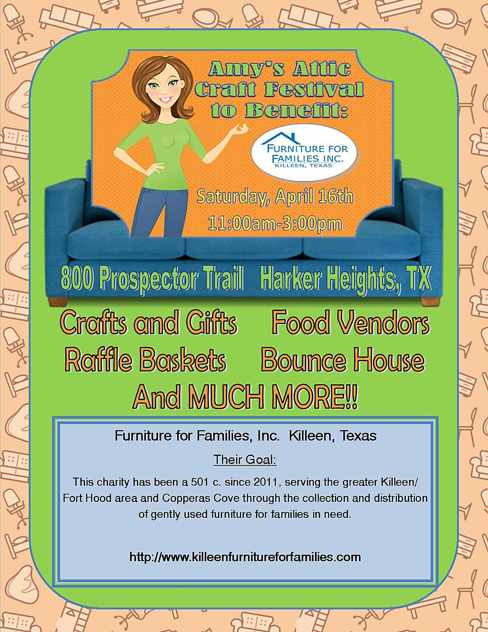 Amy S Attic Craft Festival For Furniture For Families Inc