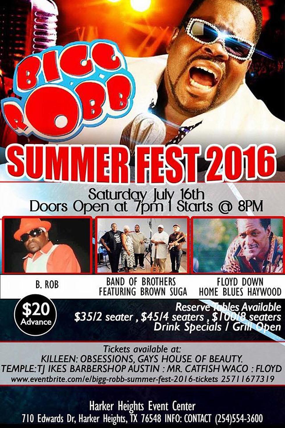 Bigg Robb Summerfest 2016 Coming To The Ctx