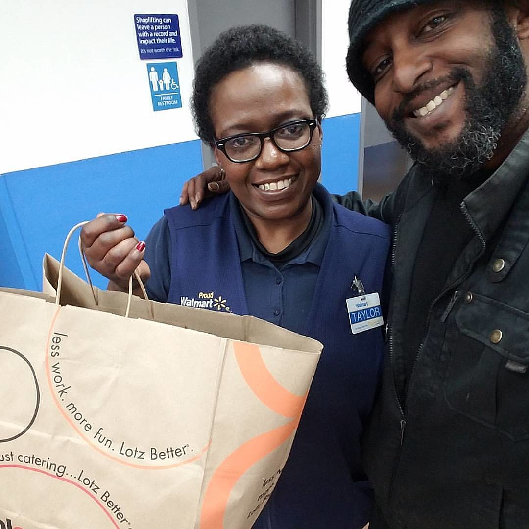 free lunch friday winner sharebia at wal mart in harker heights