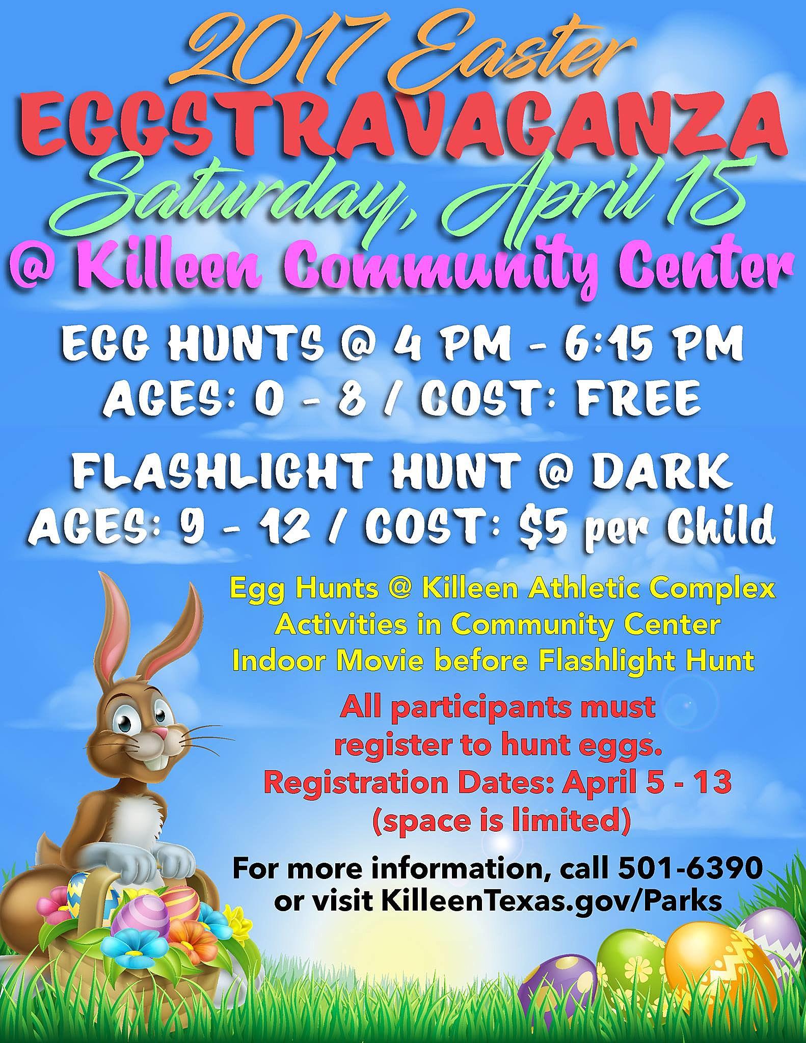 Easter Egg Hunts Around Killeen, Harker Heights & Central Texas