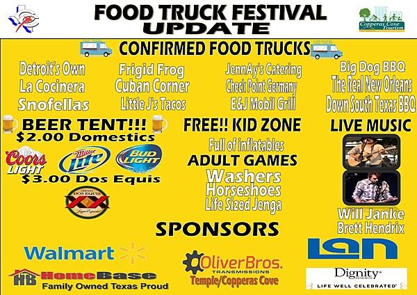 Copperas Cove Food Truck Festival